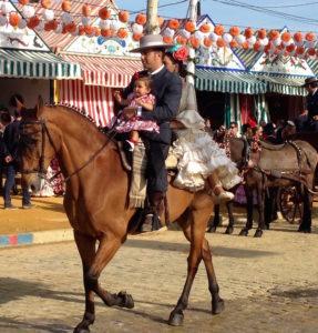 Une famille à la Feria