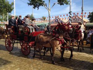 Un attelage de la Feria