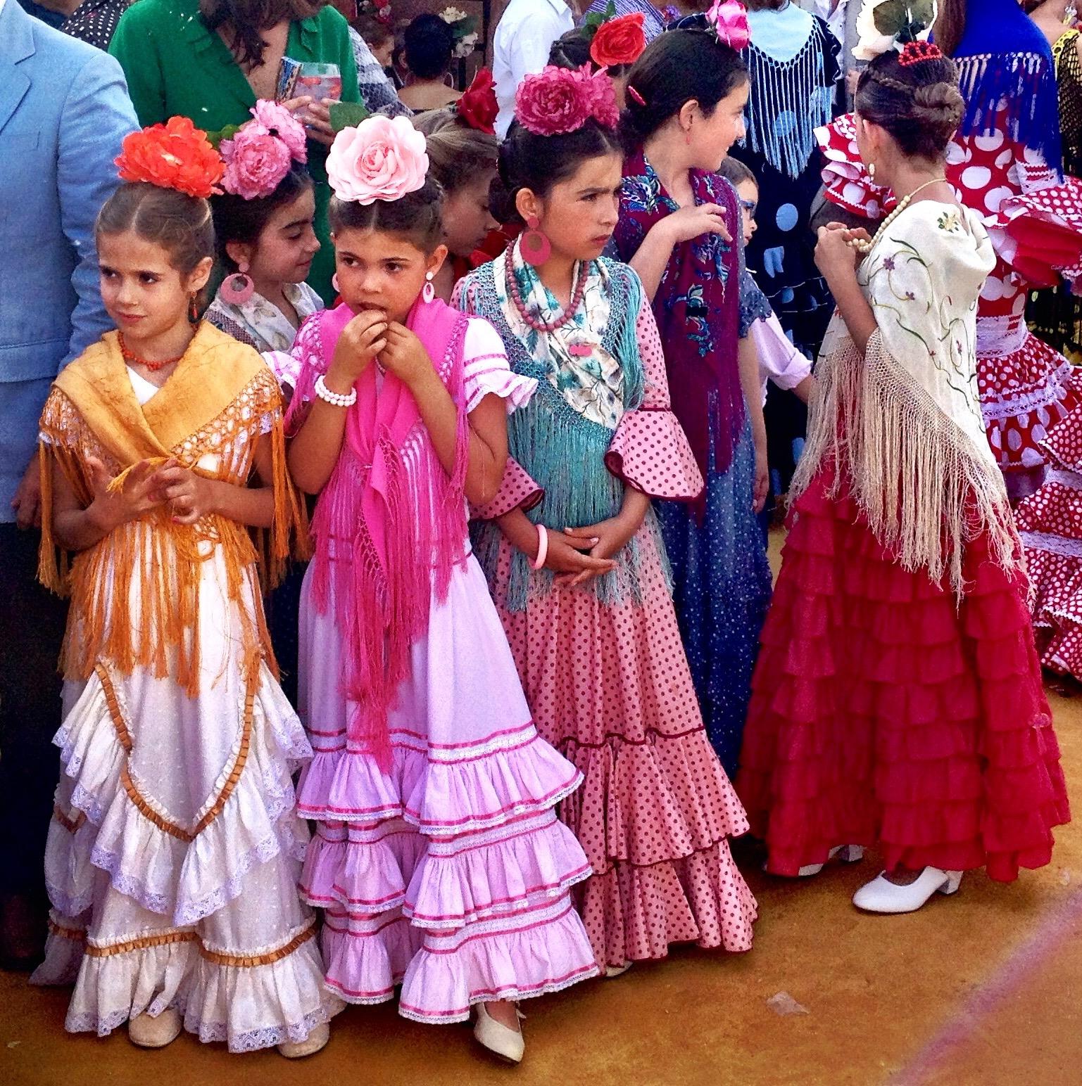 Jeunes Sévillanes