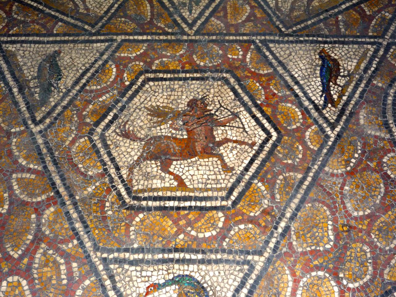 mosaïque du musée du Bardo